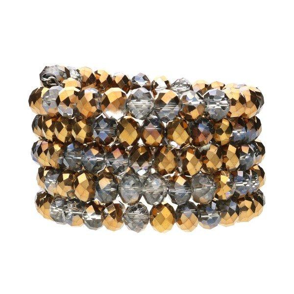 """Armband """"Lulu"""" - gold/schwarz"""