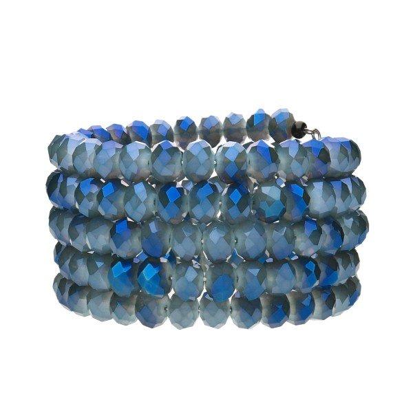 """Armband """"Lulu"""" - blau"""